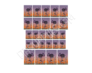 Ostrich Image Transfer Sheet