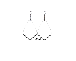 Sublimation Earring Chandelier
